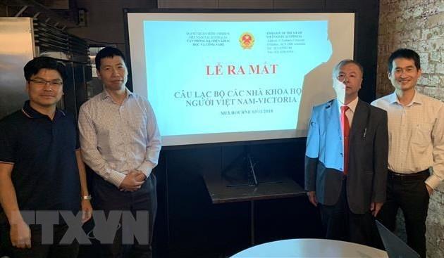 Ra mắt Câu lạc bộ thứ ba các nhà khoa học người Việt Nam tại Australia