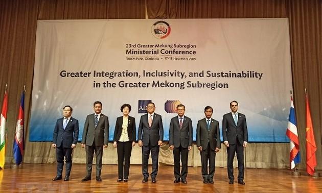 """Hội nghị Bộ trưởng GMS 23 nhấn mạnh """"Hội nhập sâu rộng, hòa đồng và bền vững hơn"""""""