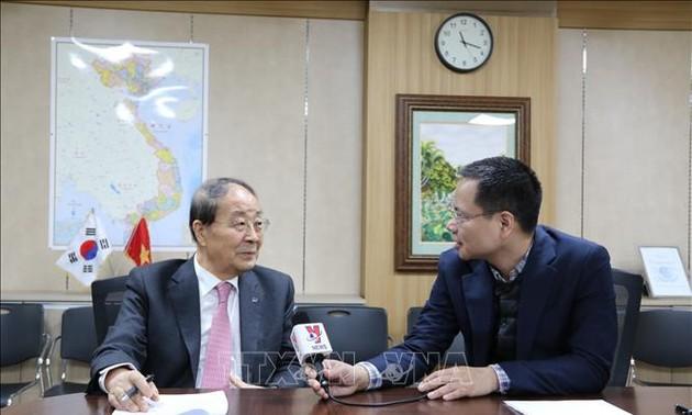 Chủ tịch Hội Hữu nghị Hàn - Việt đề cao vai trò của ngoại giao nhân dân và giao lưu văn hóa