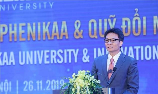 Phó Thủ tướng Vũ Đức Đam: Đại học là nơi sáng tạo ra công nghệ