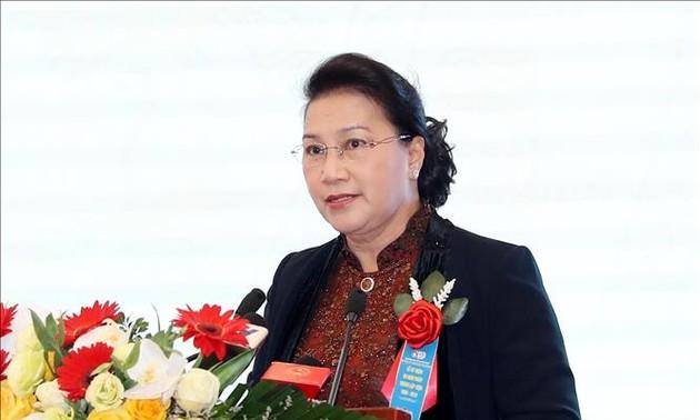 Chủ tịch Quốc hội Nguyễn Thị Kim Ngân dự Lễ kỷ niệm 60 năm thành lập Viện Khoa học thủy lợi Việt Nam