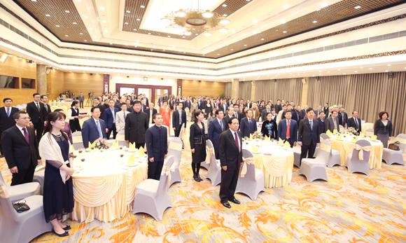 Chiêu đãi kỷ niệm 70 năm thiết lập quan hệ ngoại giao Việt Nam - Trung Quốc