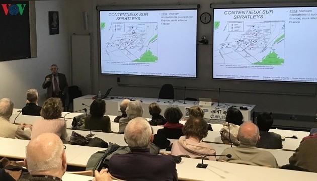 Hội thảo về Biển Đông tại thành phố Saint-Brieuc, Pháp