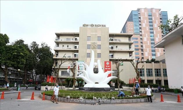 Bệnh viện Bạch Mai chính thức khám chữa bệnh trở lại
