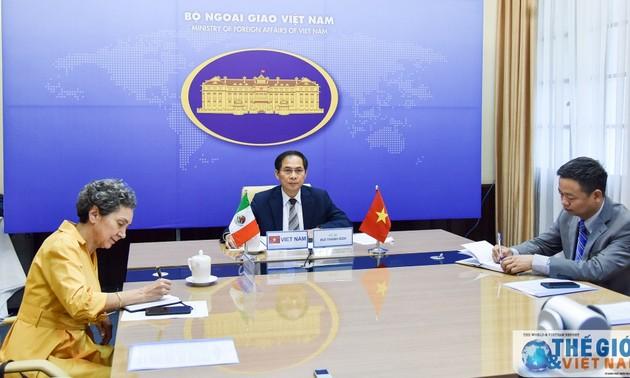 Hội đàm trực tuyến cấp Thứ trưởng ngoại giao Việt Nam-Mexico