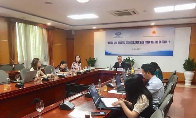 Hội nghị Bộ trưởng Thương mại APEC trực tuyến (VMRT) về COVID-19