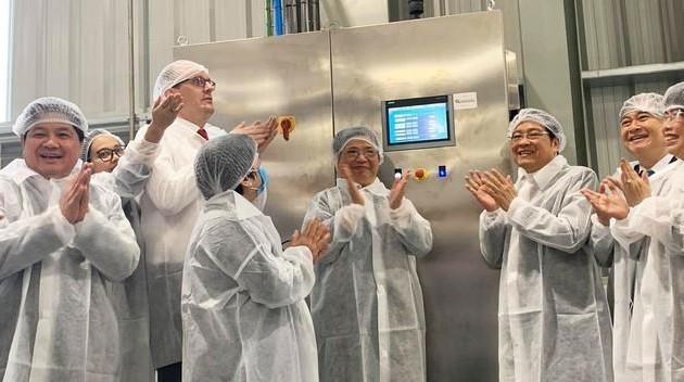 Khánh thành Nhà máy chế biến hoa quả tươi  tại Vân Hồ, Sơn La