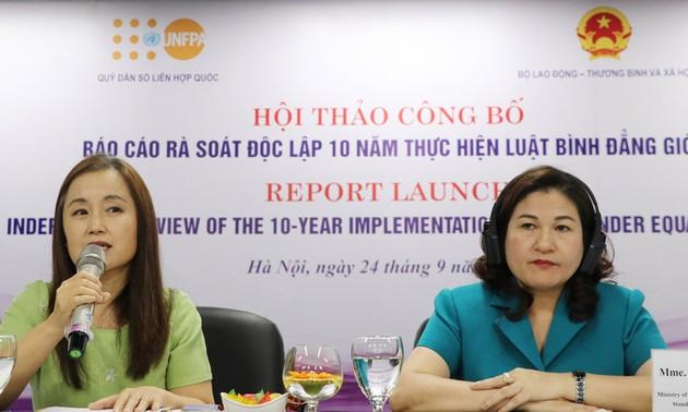 Việt Nam đạt được nhiều tiến bộ trong bình đẳng giới