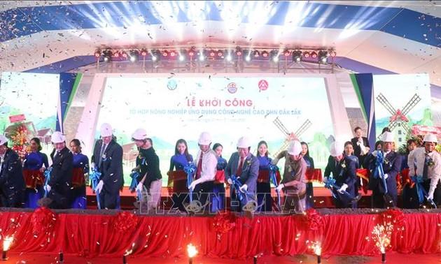 Khởi công Tổ hợp khu nông nghiệp ứng dụng công nghệ cao hiện đại nhất Tây Nguyên