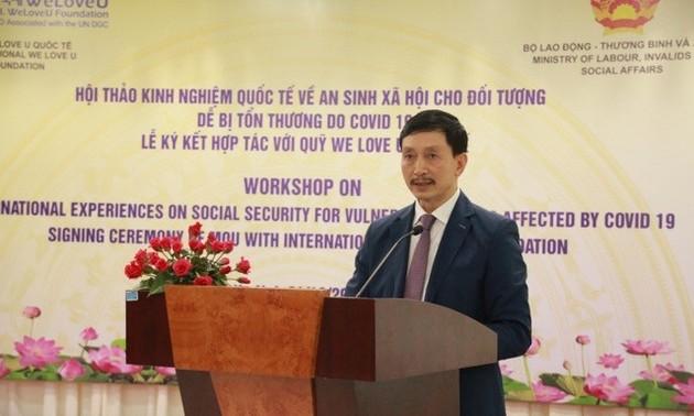 Hợp tác quốc tế vì an sinh xã hội cho người dân