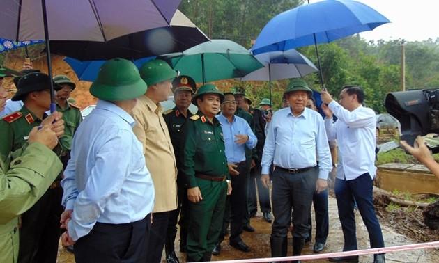 Tiếp tục các nỗ lực khắc phục hậu quả mưa lũ ở miền Trung
