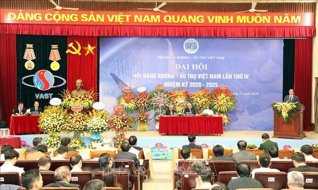 Ngành Hàng không - Vũ trụ Việt Nam góp phần phát triển kinh tế - xã hội, củng cố quốc phòng - an ninh