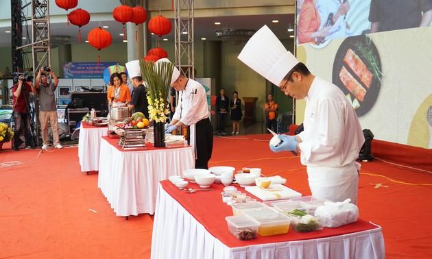 Giao lưu và trình diễn ẩm thực Việt Nam và thế giới