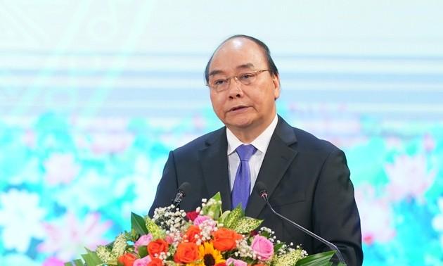 Thủ tướng Nguyễn Xuân Phúc: Chủ tịch nước Lê Đức Anh tấm gương sáng ngời tận trung với Đảng, tận hiếu với dân