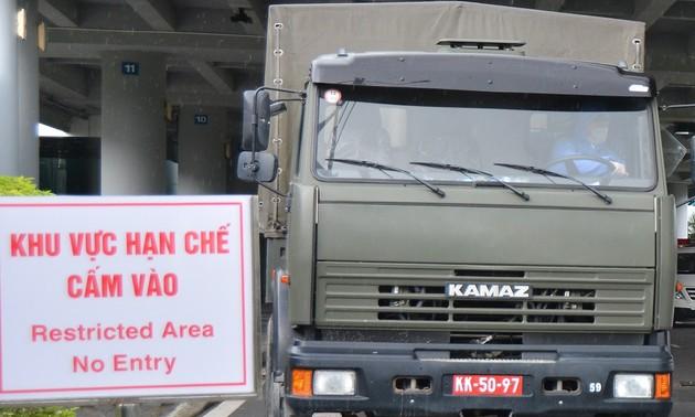 Đón công dân Việt Nam từ Singapore về nước