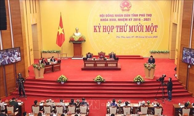 Chủ tịch Quốc hội Nguyễn Thị Kim Ngân dự Kỳ họp Hội đồng nhân dân tỉnh Phú Thọ