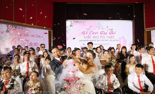 """Lễ cưới tập thể """"Giấc mơ có thật"""" lần thứ 3"""
