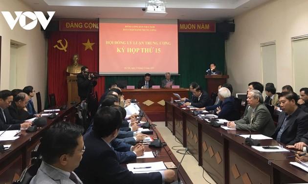 Phiên họp 15 Hội đồng Lý luận Trung ương