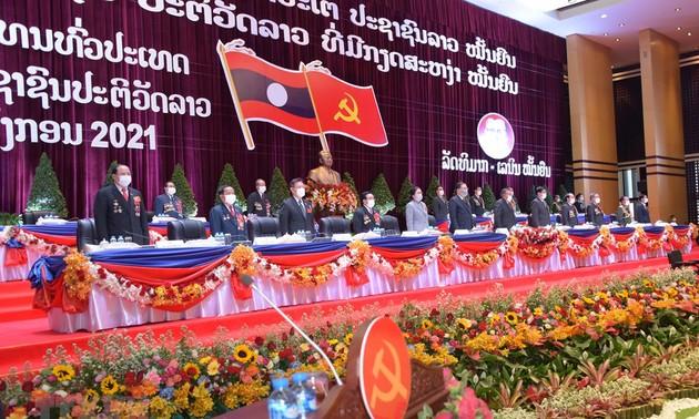 Chủ tịch UBTƯ MTTQ Việt Nam gửi Thư chúc mừng thành công của Đại hội đại biểu toàn quốc Đảng NDCM Lào lần thứ XI