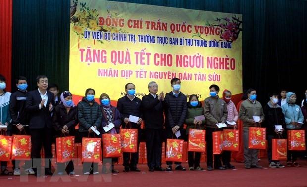 Lãnh đạo Đảng, Nhà nước thăm, chúc Tết các địa phương