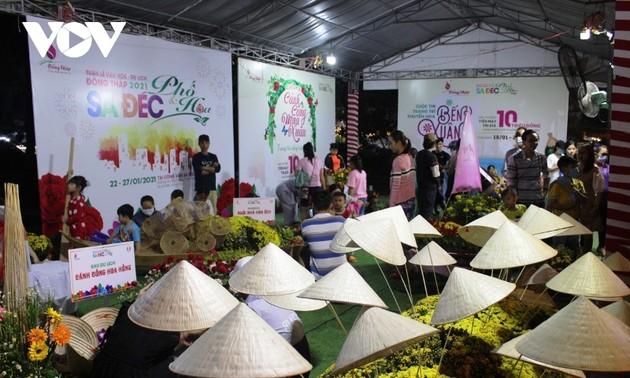 Trên 200.000 lượt khách tham quan Tuần lễ Văn hóa du lịch tỉnh Đồng Tháp năm 2021