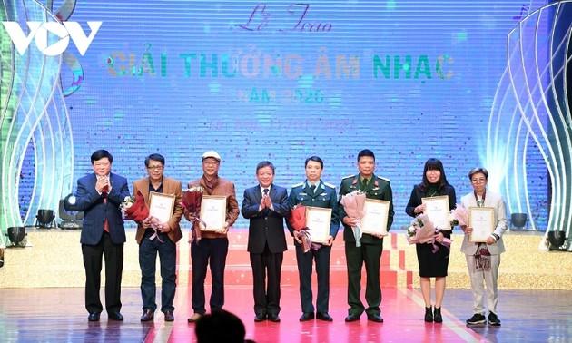 Giải thưởng âm nhạc Hội nhạc sĩ Việt Nam 2020