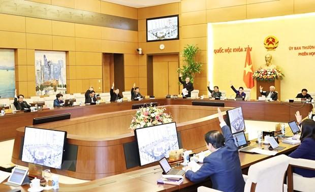 Ngày 22/2 diễn ra Phiên họp thứ 53 của Ủy ban Thường vụ Quốc hội khóa XIV
