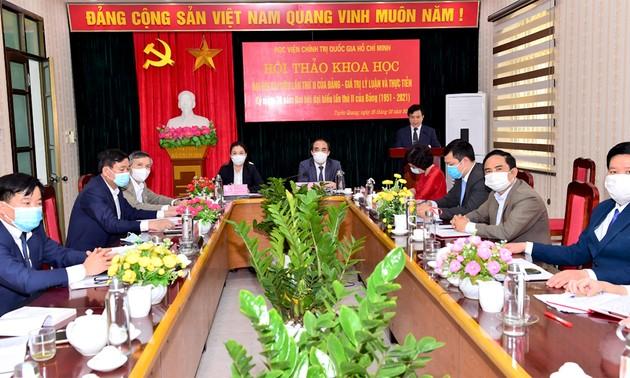 Hội thảo Đại hội đại biểu lần thứ 2 của Đảng Cộng sản Việt Nam