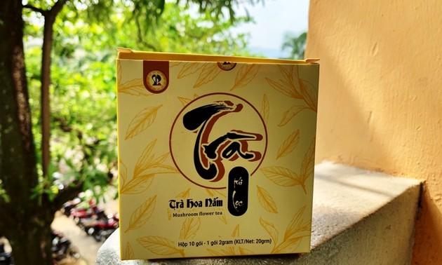 Sinh viên Đà Nẵng khởi nghiệp làm trà hoa nấm thiên nhiên
