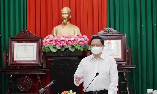 Thủ tướng Phạm Minh Chính: Huy động trí tuệ của tập thể, sự vào cuộc của nhân dân trong công tác phòng, chống dịch