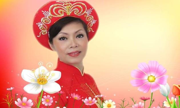 Soạn giả Hoàng Thị Dư và những bài dân ca chống dịch