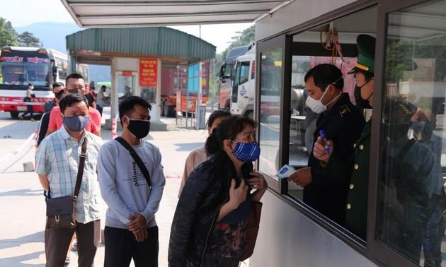 Dừng tiếp nhận công dân Việt Nam nhập cảnh qua Cửa khẩu Cầu Treo từ ngày 18/6