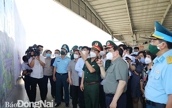 Thủ tướng Phạm Minh Chính thăm và làm việc tại tỉnh Đồng Nai