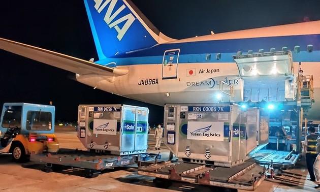 1 triệu liều vaccine phòng COVID-19 do Nhật Bản viện trợ sẽ về Việt Nam vào đầu tháng 7