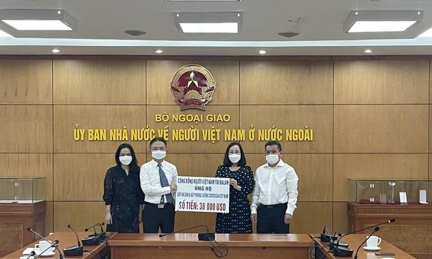 Cộng đồng người Việt tại Ba Lan ủng hộ công tác phòng, chống Covid-19 ở trong nước