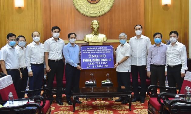 Thư cảm ơn của Thứ trưởng Bộ Ngoại giao về đóng góp của kiều bào