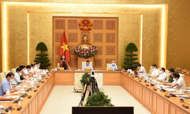 Thủ tướng Phạm Minh Chính làm việc với thường trực Chính phủ và tập thể lãnh đạo Ban Dân vận Trung ương