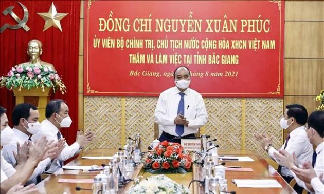 Tỉnh Bắc Giang có nhiều bài học kinh nghiệm tốt trong phòng, chống COVID-19