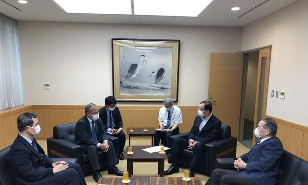 Tăng cường mối quan hệ tốt đẹp giữa Việt Nam và Đảng Cộng sản Nhật Bản