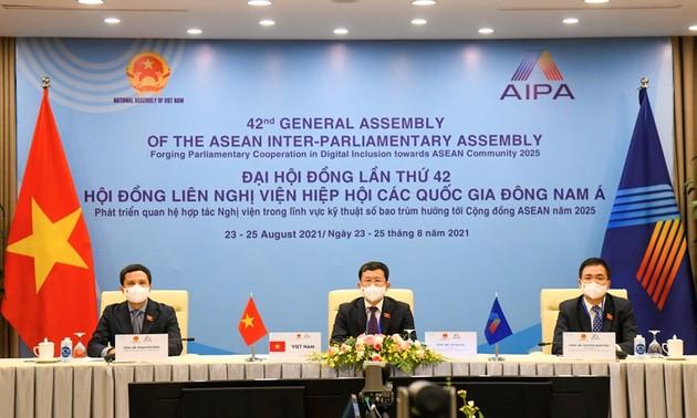 AIPA-42: Ủy ban Chính trị thảo luận thống nhất hành động bảo đảm an ninh mạng