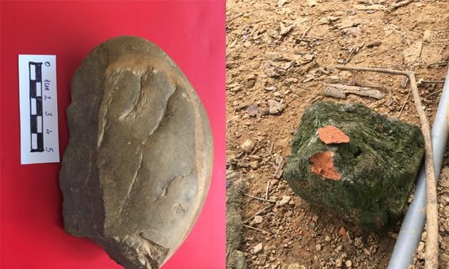 Phát hiện di tích khảo cổ học tiền sử tại thôn Ngòi Sen, xã Văn Phú, thành phố Yên Bái