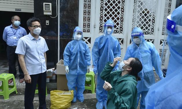 Thực hiện giãn cách xã hội nghiêm ngặt trong cả đợt để phòng chống dịch Covid-19 hiệu quả