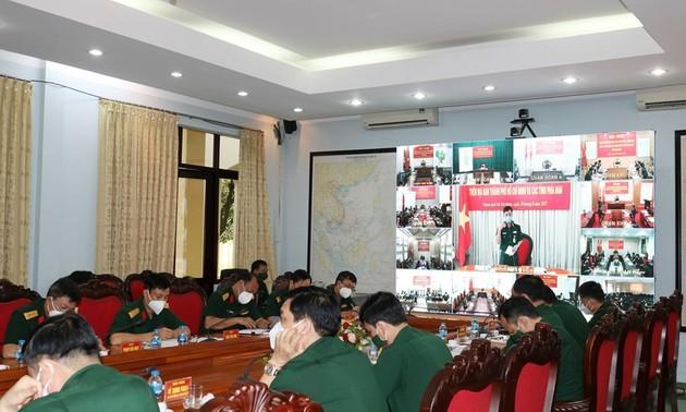 Bộ Quốc phòng giao ban trực tuyến triển khai các biện pháp phòng, chống dịch Covid- 19