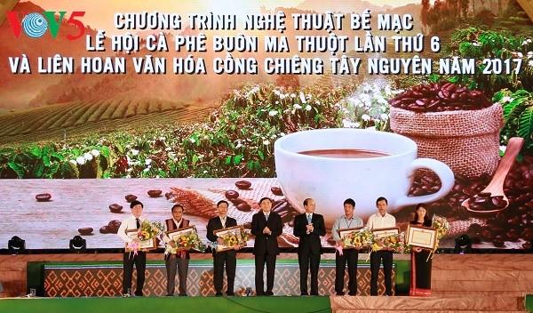 Festival ke-6 Kopi Buon Ma Thuat berakhir di provinsi Dak Lak