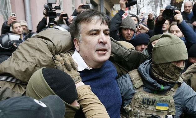 Ukraina membantah informasi melakukan perundingan dengan Georgia tentang ekstradiksi mantan Presiden Saakhashvili