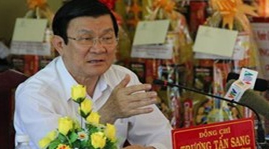 President Truong Tan Sang underlines healthcare as strategic task