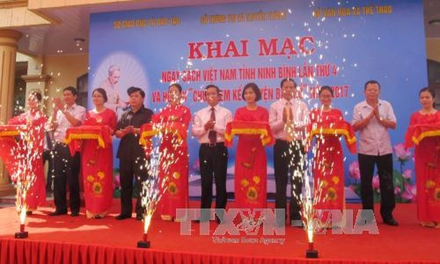Vietnam Book Day April 21: Reading culture promotion for a learning society