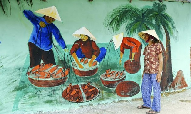 Vietnam's first mural village