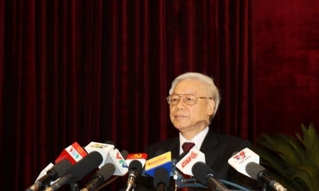 Party Central Committee approves 6th plenum resolutions, conclusions with high consensus