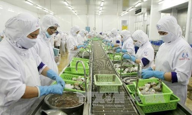 Seafood exports rise nearly 10%